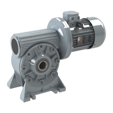 Worm-gear speed reducer